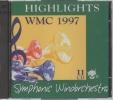 吹奏楽CD/世界音楽コンクール WMC1997ハイライト/2枚組/廃盤