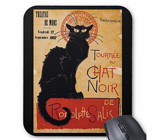 スタンラン 『 黒猫 』のマウスパッド (縦位置)_画像1