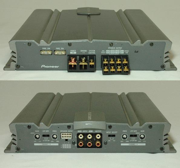carrozzeria/4ch(300W×2ch)パワーアンプ【GM-A3400】/管YPO_画像3