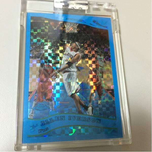 ALLEN IVERSON アイバーソン topps カード NBA バスケ グッズの画像