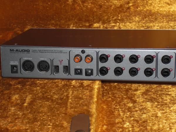エムオーディオ M-AUDIO FireWire 410 オーディオインターフェース 24Bit 96kHz 超高音質! DTM DAW 宅録 PC REC等に最適 4in/10out_画像2
