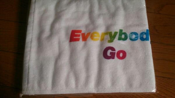 Kis-My-Ft2★キスマイ*Everybody Go*タオル*新品/未開封