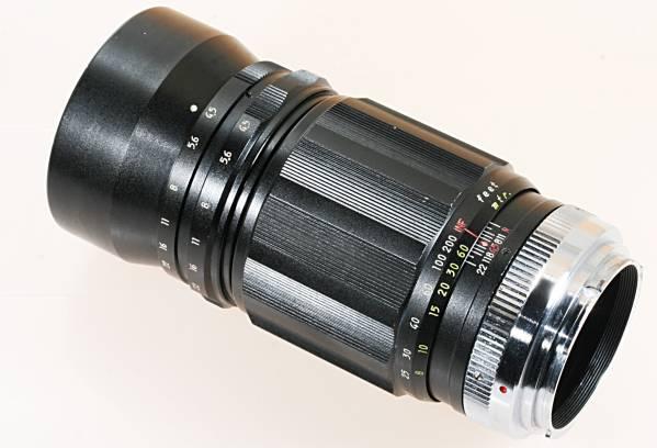 望遠 単焦点 KOMURA 200mm F4 for MINOLTA SR 16枚絞り_画像3