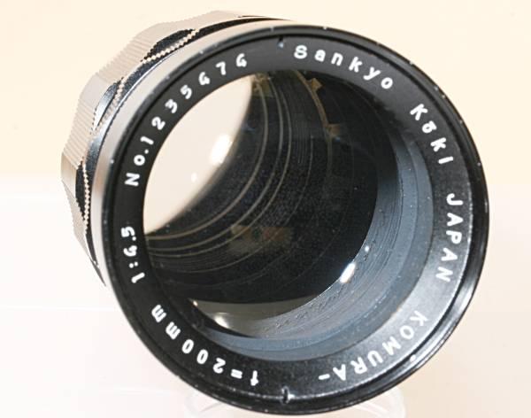 望遠 単焦点 KOMURA 200mm F4 for MINOLTA SR 16枚絞り_画像2
