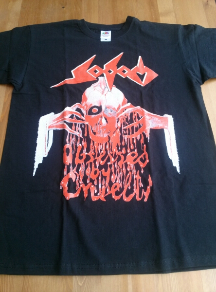 SODOM Tシャツ 黒M obsessed by cruelty #2 / slayer kreator