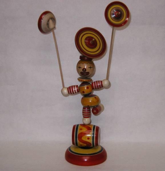 木地玩具「サーカ?#24037;长蓿?#22823;)」