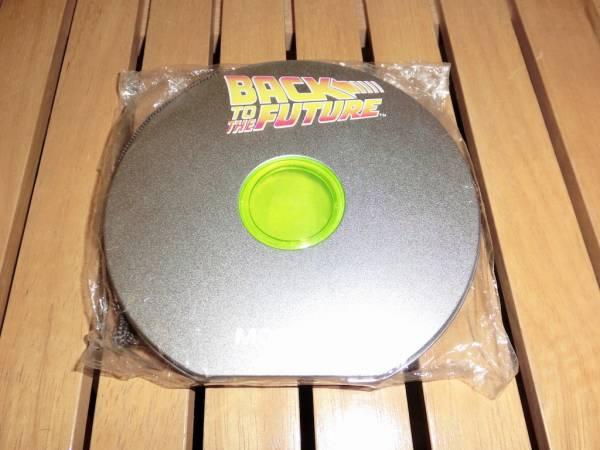 映画「バック・トゥ・ザ・フューチャー」のロゴ入りCDケース