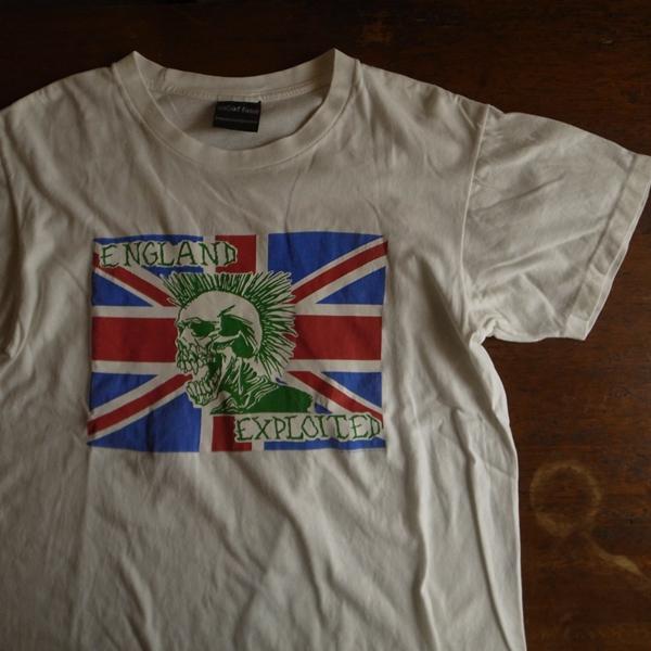 * 90s Exploited エクスプロイテッド Tシャツ M 白 / パンク ロックT