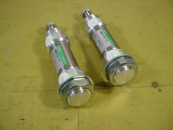 CKD エアーシリンダー CMK2-25-15*2本組 中古品 シリンダーK_画像4