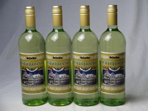 ドイツホット白ワイン4本セット ゲートロイトハウス グリュー_画像1