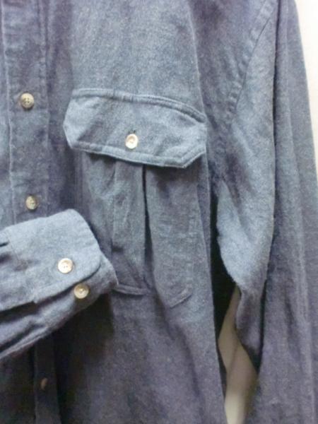 売り切りSALE!!ペンドルトンブルーネルシャツ/USA老舗ブランドアメカジM_画像2