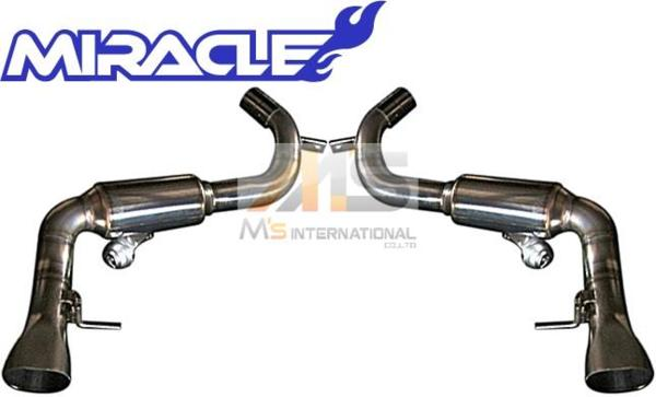 【M's】W217 S550 Sクラスクーペ(V8)ミラクル可変リアマフラー_画像1