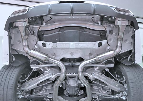【M's】W217 S550 Sクラスクーペ(V8)ミラクル可変リアマフラー_画像2