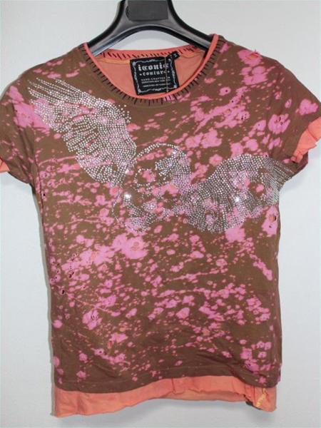 アイコニック ICONIC レディース半袖Tシャツ Mサイズ NO10 新品_画像1