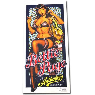 ロッキンジェリービーン Bettie Page Call Me? ポスター_ロッキンジェリービーン