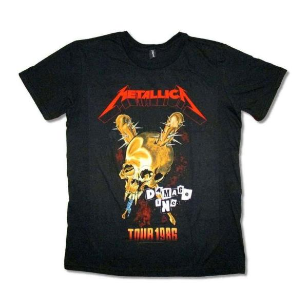 Metallica バンドTシャツ メタリカ Damage 1986 M ライブグッズの画像