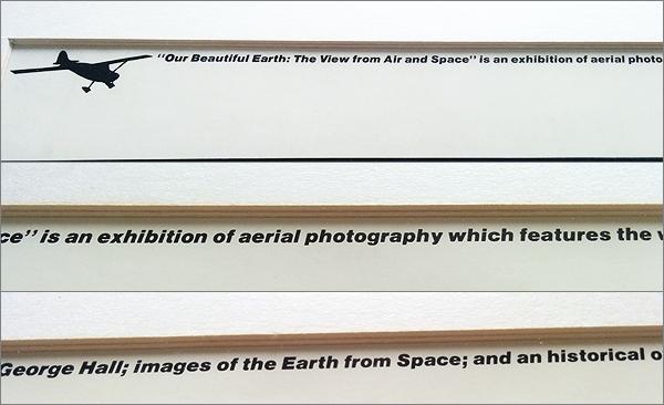 【ウィリアム・ガーネット Dendritic Flow (額装)】検:スミソニアン国立航空宇宙博物館/航空写真_画像4