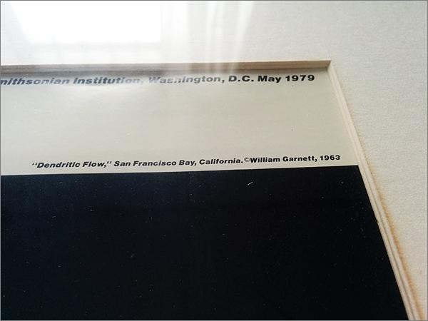 【ウィリアム・ガーネット Dendritic Flow (額装)】検:スミソニアン国立航空宇宙博物館/航空写真_画像2