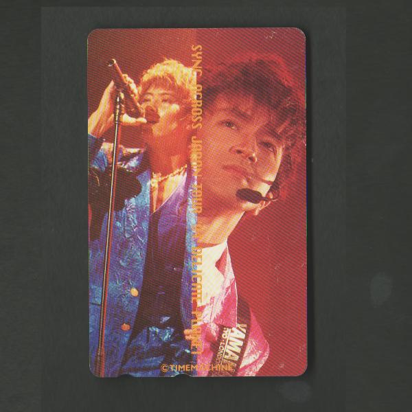 『未使用/テレカ』access/アクセス 浅倉大介 貴水博之 SYNC-ACROSS JAPAN TOUR '93-'94 ライブツアー