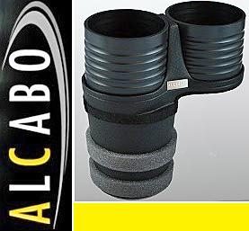 【M's】VOLVO S60 V60 XC60 X70 XC70 S80 ALCABO ドリンクホルダー(ブラック)//アルカボ カップホルダー 左右H共通 ボルボ AL-B107B_画像1