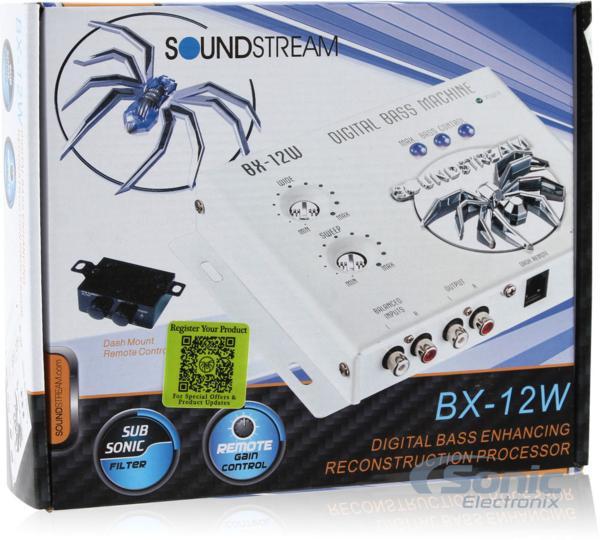 ■USA Audio■サウンドストリームSoundstreamデジタルプロセッサーBX-12W (白色)●税込_画像4