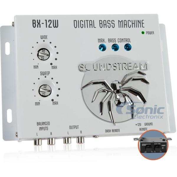 ■USA Audio■サウンドストリームSoundstreamデジタルプロセッサーBX-12W (白色)●税込_画像2
