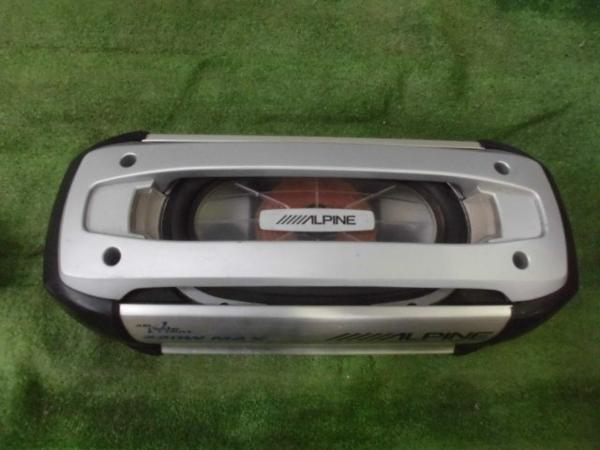 ジャンク ALPINE SWE-1400 MRV-F340 ウーハー アンプセット_画像2