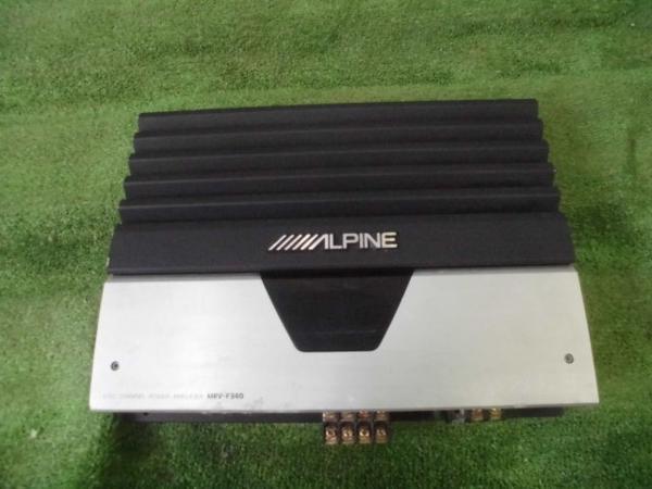 ジャンク ALPINE SWE-1400 MRV-F340 ウーハー アンプセット_画像5