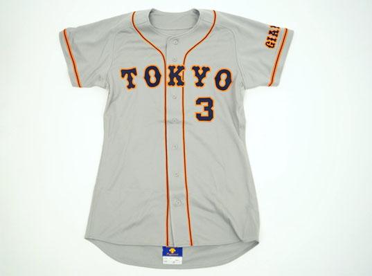 5 読売ジャイアンツ 巨人 2000年 #3 長嶋 茂雄 ユニフォーム グレー O