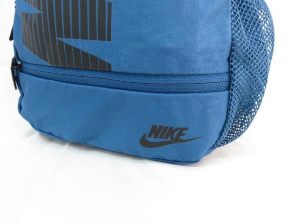 1 NIKE ナイキ リュックサック デイパック デイバッグ メンズ レディース 青 ブランド 新品 人気 44cm 22L BA4863 通学 通勤 バックパック_画像3