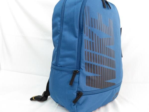 1 NIKE ナイキ リュックサック デイパック デイバッグ メンズ レディース 青 ブランド 新品 人気 44cm 22L BA4863 通学 通勤 バックパック_画像4