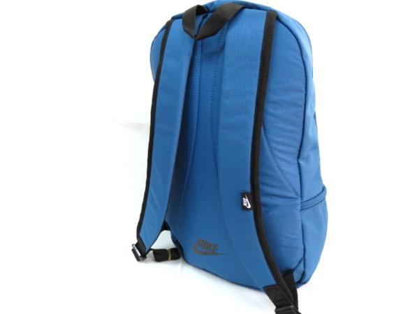 1 NIKE ナイキ リュックサック デイパック デイバッグ メンズ レディース 青 ブランド 新品 人気 44cm 22L BA4863 通学 通勤 バックパック_画像5