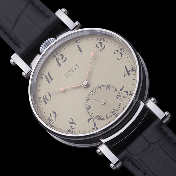 new product 7a0a6 8aa2b ショパール懐中時計ムーブメント使用 カスタム腕時計 リケース・リダン裏スケ