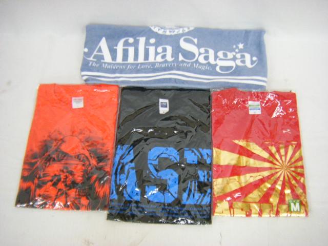 044 Afilia Saga アフィリア・サーガ 純情のアフィリア 未開封Tシャツ×3枚 フード付きタオル 【中古】