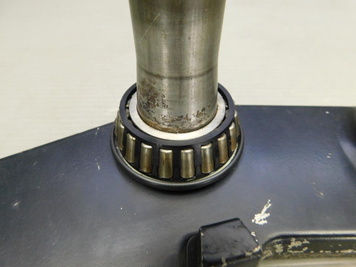 稀少★良好 GSX-R1100 GV73A 油冷 純正 ステアリング ステム 三つ又 Φ55 アンダーブラケット_画像9
