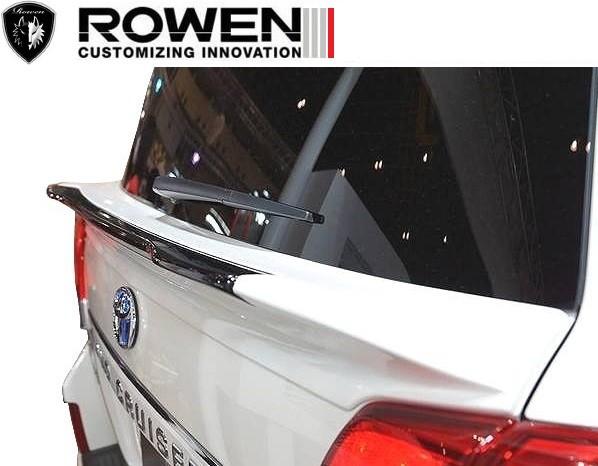 【M's】ランドクルーザー200 中期 リア ゲートスポイラー ROWEN_画像3