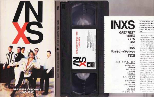 ◆ビデオ INXSインエクセス グレイテストビデオヒッツ 1980-1990_画像3