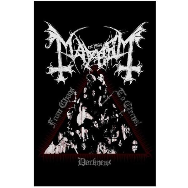 海外限定 公式 Mayhem メイヘム 特大布ポスター G121