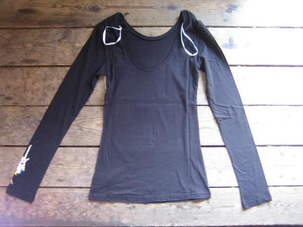 新品本物ボルコムロンTシャツ黒s検ビームスアローズサーフ@CL@_◆レディースサイズ S