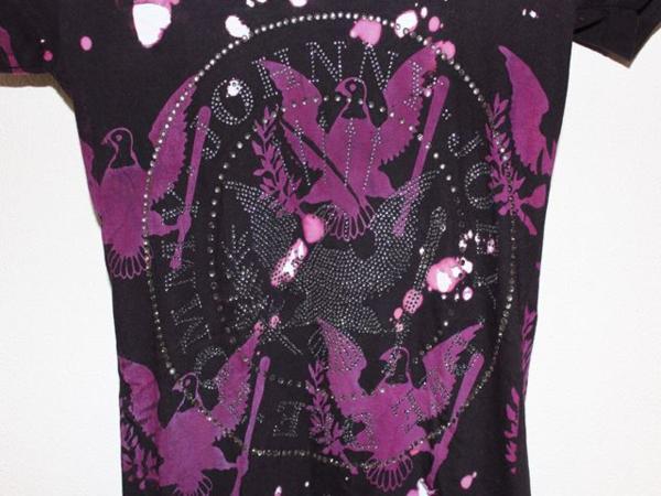 サディスティックアクション SADISTIC ACTION ICONIC レディース半袖Tシャツ ラモーンズ Sサイズ アイコニック 新品_画像4
