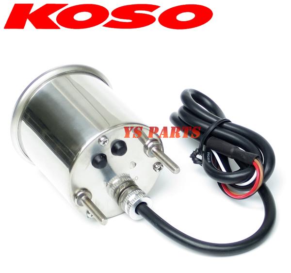 KOSO針式LEDタコメーターVOX/グランドアクシス/マジェスティ125/シグナスX/BW'S100/NMAX125/NMAX155/TW200/TW225/セロー225/SR400等に_画像5