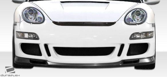 06-08 ポルシェ ケイマン 05-08ボクスター DF GT3-RS仕様 ボディキット エアロ 4点セット フロント/リアバンパー グリル リップスポイラー_画像10