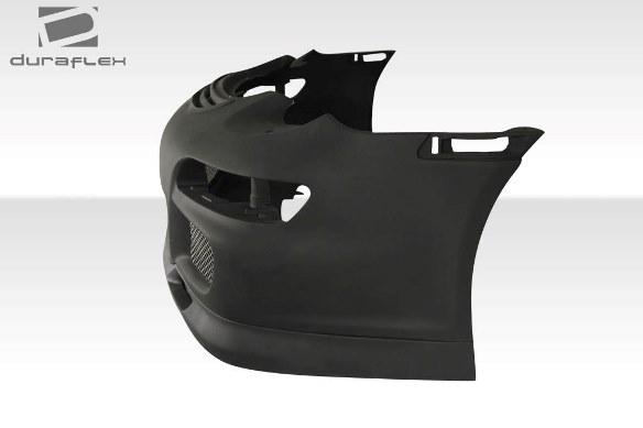 06-08 ポルシェ ケイマン 05-08ボクスター DF GT3-RS仕様 ボディキット エアロ 4点セット フロント/リアバンパー グリル リップスポイラー_画像4