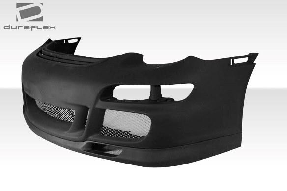 06-08 ポルシェ ケイマン 05-08ボクスター DF GT3-RS仕様 ボディキット エアロ 4点セット フロント/リアバンパー グリル リップスポイラー_画像9
