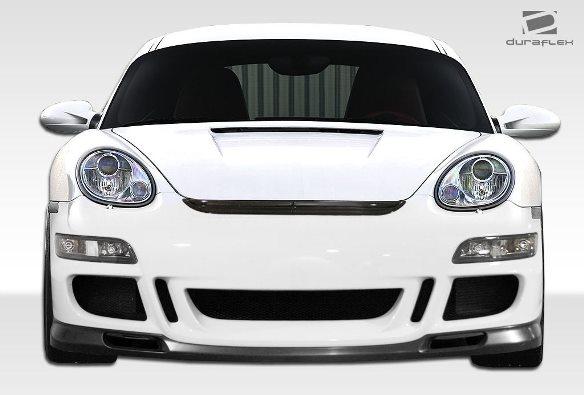 06-08 ポルシェ ケイマン 05-08ボクスター DF GT3-RS仕様 ボディキット エアロ 4点セット フロント/リアバンパー グリル リップスポイラー_画像2