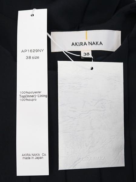 AKIRA NAKA(アキラナカ) プリーツドレス (NV) #38 新品 2016秋冬_画像6