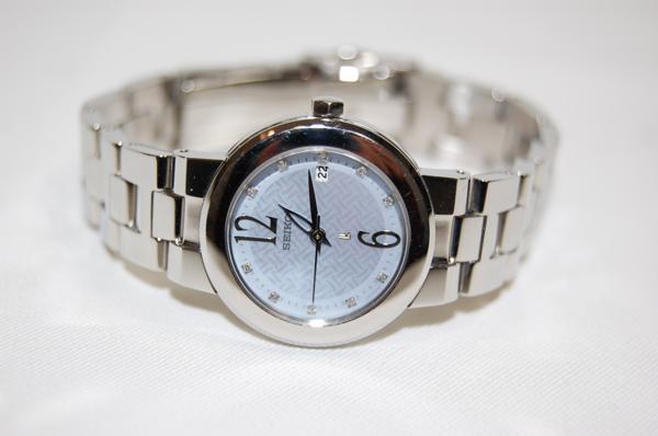 SEIKO セイコー ルキア SSVK073 7N82-0CN0 シェル文字盤 SS クォーツ レディス腕時計 _画像1