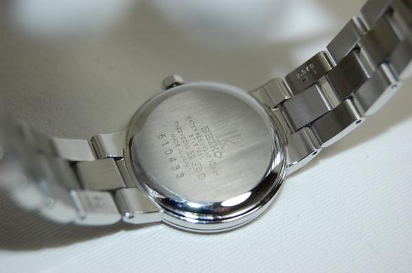 SEIKO セイコー ルキア SSVK073 7N82-0CN0 シェル文字盤 SS クォーツ レディス腕時計 _画像4