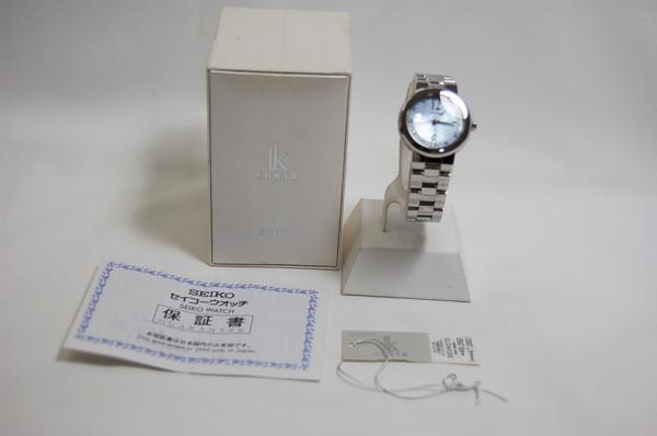 SEIKO セイコー ルキア SSVK073 7N82-0CN0 シェル文字盤 SS クォーツ レディス腕時計 _画像6