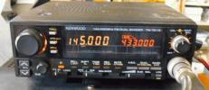"""簡単操作のケンウッド144/430MHz10W""""TM-721G""""完動品 使い捨て用に!"""